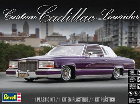 Revell 1/25 Custom Cadillac Lowrider (RMX4438)