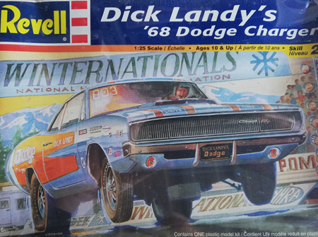 Revell 1/25 Dick Landy's 68 Dodge Charger (RMX2573)