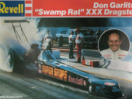 Revell 1/25 Don Garlits' Swamp Rat XXX Dragster