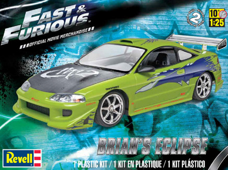 Revell 1/25 Fast & Furious Brian's Mitsubishi Eclipse