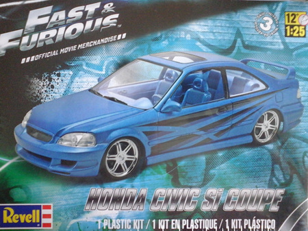 Revell 1/25 Fast & Furious Honda Civic Si Coupe