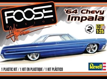 Revell 1/25 Foose 64 Chevy Impala (RMX4050)