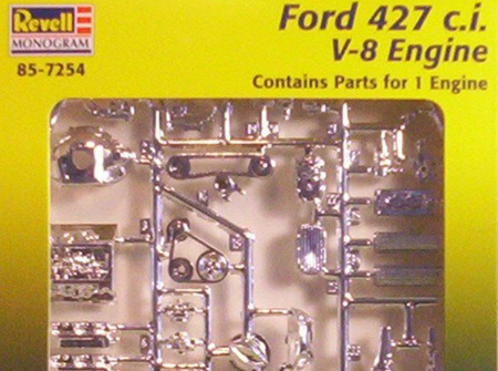 Revell 1/25 Ford 427ci V8 Engine (RMX7254)
