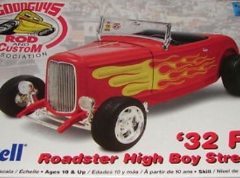Revell 1/25 'Good Guys' 32 Ford Roadster High Boy Street Rod (RMX2893)