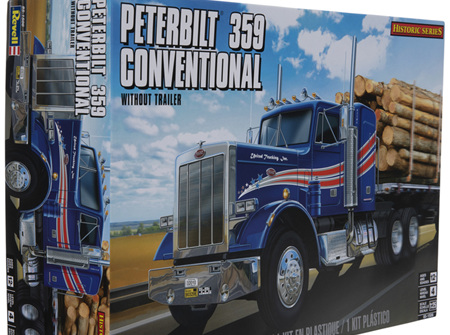 Revell 1/25 Peterbilt 359 Conventional Tractor (RMX1506)