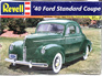Revell 1/25 40 Ford Standard Coupe