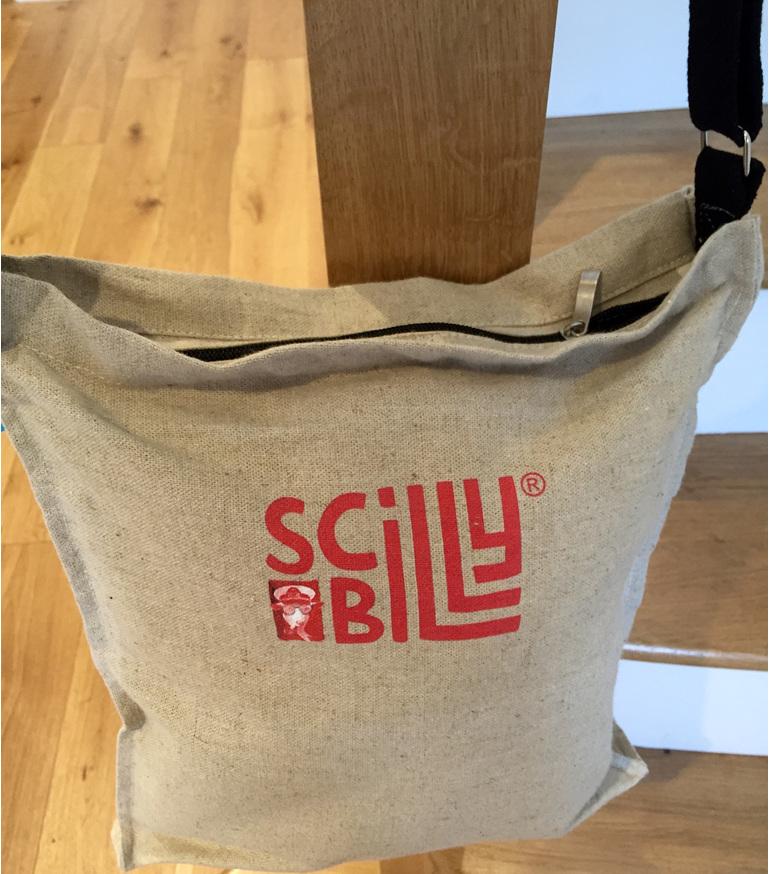 Reverse side of bag