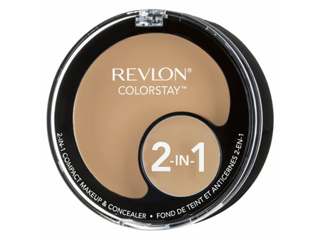 Revlon Colorstay 2In1 Compact Makeup  Concealer Buff Chamois
