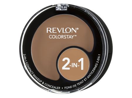 Revlon Colorstay 2In1 Compact Makeup  Concealer Natural Tan