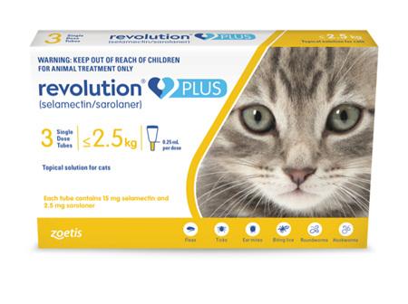 Revolution Plus for Cats