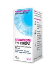 REXACROM 2% EYE DROPS