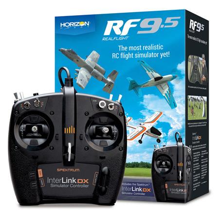 RF9.5 Flight Simulator with Spektrum Controller by Real Flight