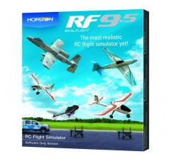 RF9.5 Flight Simulator, Software Only by Real Flight