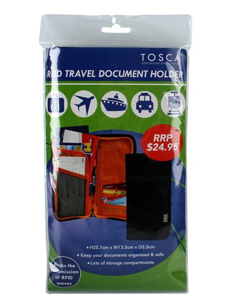 RFID Travel Document Holder