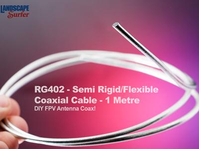 RG402 - Semi Rigid/Flexible Coaxial Cable - 1 Metre