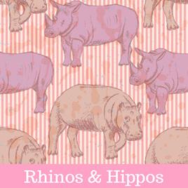 Rhinos & Hippos