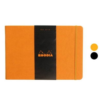 Rhodia Webnotebook - A5 landscape DOTTED