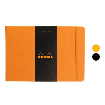 Rhodia Webnotebook  -  A5 landscape LINED