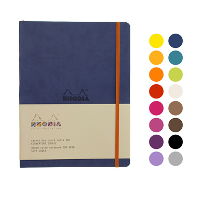 Rhodiarama notebook - B5 soft cover DOTTED