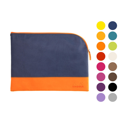 Rhodiarama pouch - large