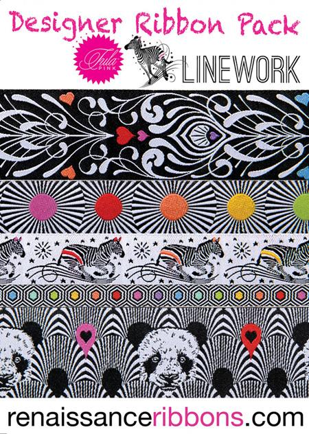 Ribbon Pack Tula Pink Lineworks