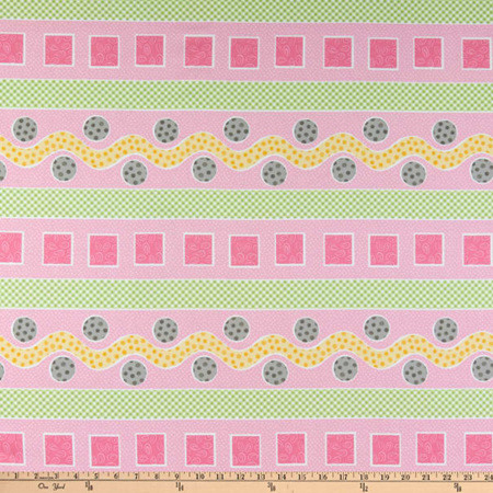 Rickrack Stripe Pink