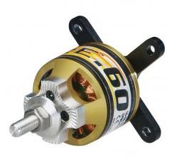 Rimfire .60 50-55-650kv Outrunner Brushless 5-6S, 85A Peak, 2200W Peak Power, 289g, 8mm shaft by Gre