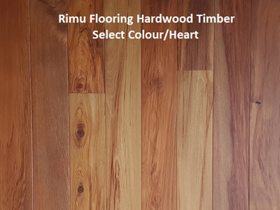 Rimu Colour Heart DB Filled and Sanded Solid Timber Flooring 85x20mm
