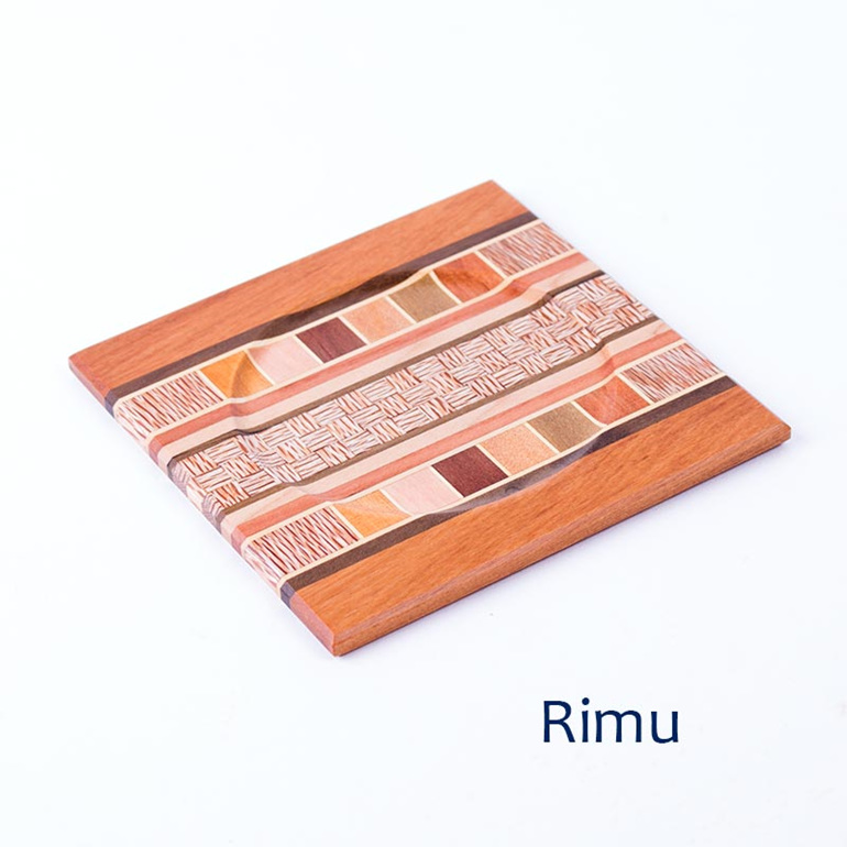 rimu native timber coaster - nz made