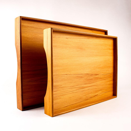 Rimu Tray with Rimu Veneer Base