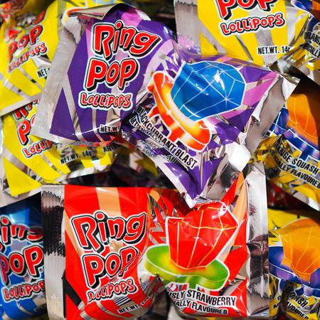 Ring pops x 24