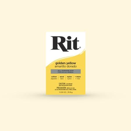 Rit Golden Yellow All-Purpose Powder Dye