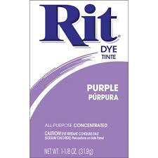 Rit Purple All Purpose Dye Powder