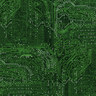 RJR Silver Circuits Green