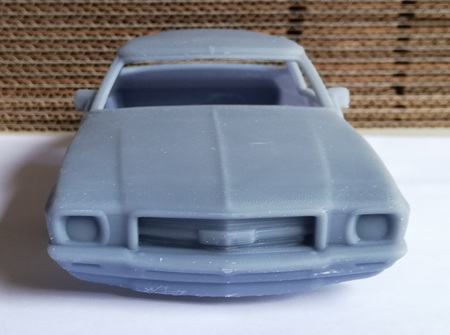 RMK 3D Printed Resin 1/24 1971 Holden Monaro GTS 350 Coupe
