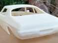 RMK 3D Printed Resin 1/24 1971 Holden Monaro GTS 350 Coupe - Premium White