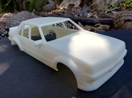 RMK 3D Printed Resin 1/24 1981 'Tru Blu' Falcon Body - Premium White