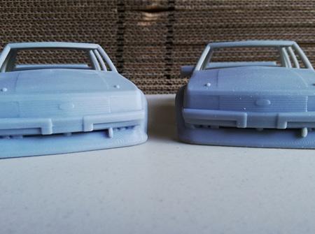 RMK 3D Printed Resin 1/24 1981 'Tru Blu' Falcon Body
