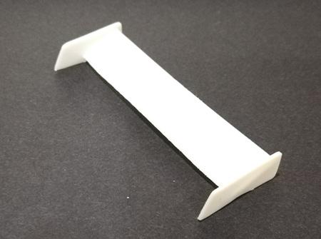 RMK 3D Printed Resin 1/24/1/25 Rear Wing #1 - Premium White