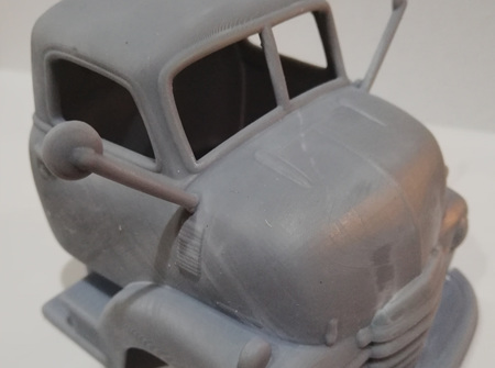 RMK 3D Printed Resin 1/25 1948 Chevy COE Body