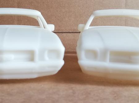 RMK 3D Printed Resin 1/25 1971 Holden Monaro GTS 350 Coupe - Premium White