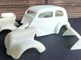 RMK 3D Printed Resin 1/25 Ford Anglia Pro Mod Body - Premium White