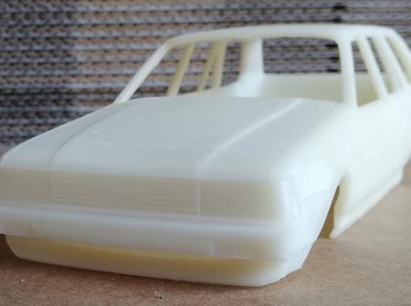 RMK 3D Printed Resin 1/25 KE70 Corolla Wagon Body - Premium White