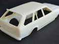RMK 3D Printed Resin 1/25 KE70 Twin Light Corolla Wagon Wide Body - Premium White