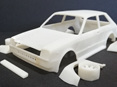 RMK 3D Printed Resin 1/25 KP61 Starlet Racing Kit - Premium White