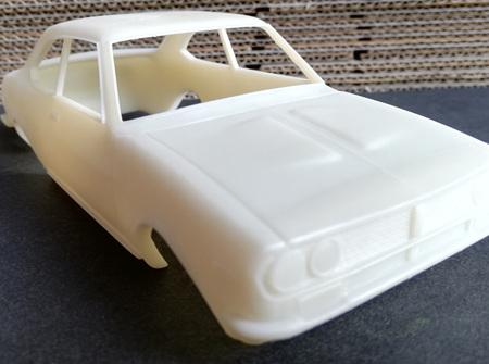 RMK 3D Printed Resin 1/25 Mazda RX2 Coupe Body - Premium White