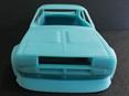 RMK 3D Printed Resin 1/25 Mazda RX2 Coupe Race Body - Premium Blue
