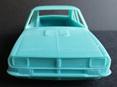 RMK 3D Printed Resin 1/25 Mazda RX2 Sedan Body - Premium Blue