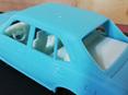 RMK 3D Printed Resin 1/25 Mazda RX2 Sedan Interior & Chassis - Premium White