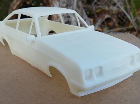 RMK 3D Printed Resin 1/25 Mk2 Escort RS2000 Body - Premium White